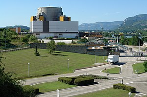 Superphénix, the biggest fast breeder reactor