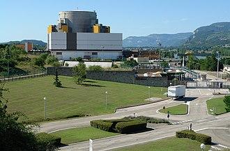 Superphénix - The Superphenix power plant