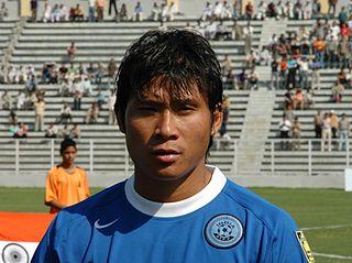 Irungbam Surkumar Singh Indian footballer