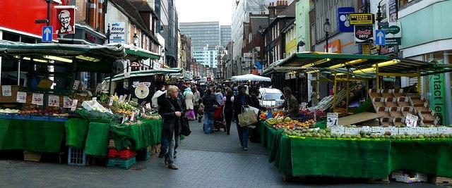 Surrey Street Market - geograph.org.uk - 1238516