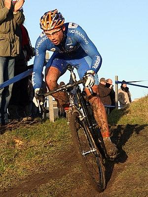Sven Nys - Nys at the 2007 Noordzeecross.