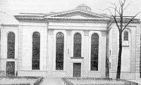 Synagoga, widok przedwojenny