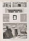 Syout (Asyût) (Lycopolis). 1-8. Plan, coupe, élévation et détails d'un hypogée; 9.10. Vues de deux hypogées (NYPL b14212718-1268141).jpg