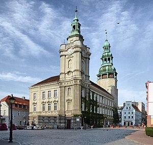 Szprotawa - Szprotawa town hall