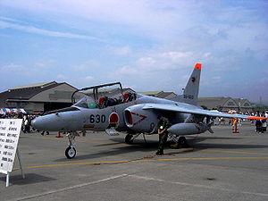 301st Tactical Fighter Squadron (JASDF) - 301 Sqn Kawasaki T-4 at MCAS Iwakuni (2005)