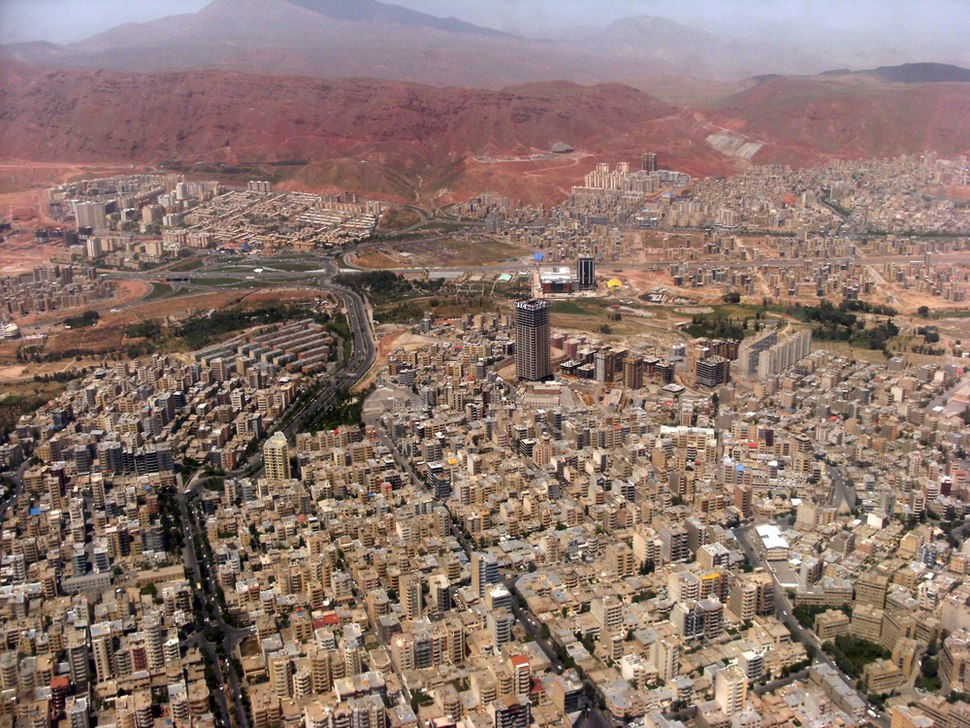 Tabriz Aerial View