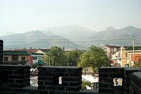 Taishan from Tai'an