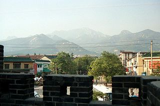Taian Prefecture-level city in Shandong, Peoples Republic of China
