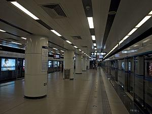 Taiyanggong Station - Image: Taiyanggong station platform