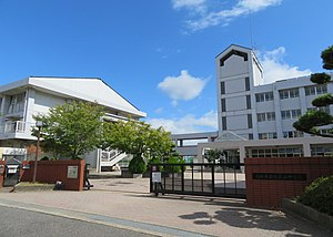 Takatsuki City Abuyama junior high school.jpg