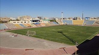 1976 AFC Asian Cup - Image: Takhti Stadium Tabriz