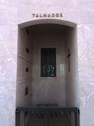 Norma Talmadge - Crypt of Norma Talmadge at Hollywood Forever