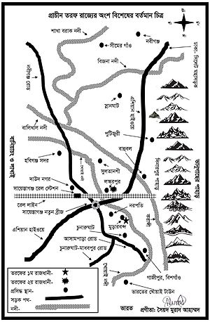 Habiganj District - Map of Taraf