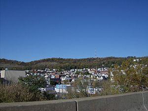 Tarentum, Pennsylvania - Tarentum as seen from the George D. Stuart Bridge, part of Pennsylvania Route 366