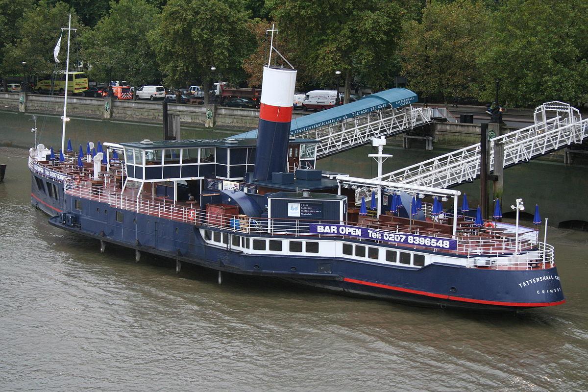 Boat Restaurant London Embankment
