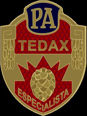 TEDAX - Image: Tedax 1975 escudo