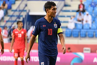 Teerasil Dangda Thai footballer
