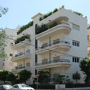 Architecture of Israel - Classical Bauhaus architecture, part of the White City UNESCO World Heritage Site
