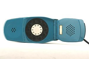 "Italtel - Telephone set ""Grillo"" (1974), a luxury model designed by Richard Sapper and Marco Zanuso"