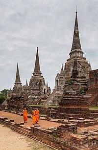 Templo Phra Si Sanphet, Ayutthaya, Tailandia, 2013-08-23, DD 17.jpg