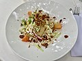 Tempura whiting fillets with sugarloaf cabbage salad at QAG Cafe, Brisbane.jpg
