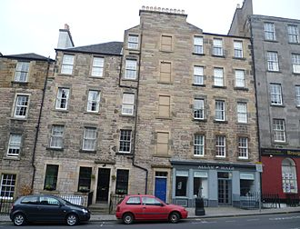 Broughton, Edinburgh - Tenements in Broughton Street