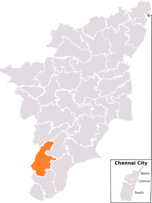Tenkasi (Lok Sabha constituency) - Tenkasi constituency, post-2008 delimitation