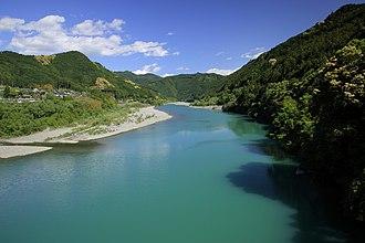 Tenryū River - Lower Tenryu River in Hamamatsu