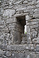 Termon, County Clare, Teampall Chrónáin East Window 2015 09 03.jpg