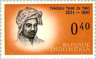 Teungku Chik di Tiro Guerrilla and freedom fighter in Indonesia