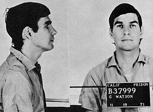 Tex Watson - Watson in a 1971 prison mugshot.