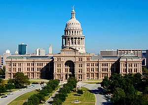 National Register of Historic Places listings in Texas - Image: Texas State Capitol Nov 2007