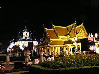 Phra Nakhon District - Image: Thai architecture 1