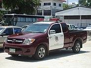 Thai police car Hilux