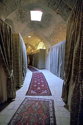 The 'bedrooms' at Caravanserai Zein-o-din, Yazd, Iran (1258996400).jpg