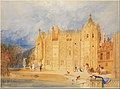 The Abbatial House, Abbey of St. Ouen, Rouen MET DP283308.jpg