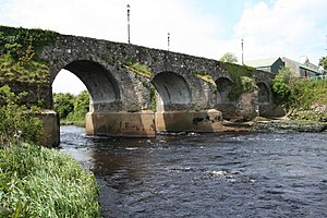 River Derg - River Derg and the Ardstraw Bridge