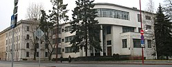 The Building of Former National Library. The Landmark of Constructivism - panoramio.jpg