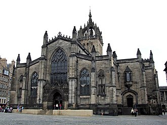 Walter Chepman -  Walter Chepman was a patron of The High Kirk of Edinburgh, also known as Saint Giles' Cathedral.