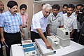 The Deputy Election Commissioner, Dr. Alok Shukla organised a media preview of the Electronic Voting Machine & Voter Verifiable Paper Audit Trail (VVPAT), in New Delhi on June 21, 2011.jpg