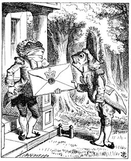 "The Fish Footman and the Frog Footman from ""Alice's Adventures in Wonderland"" (1865)"