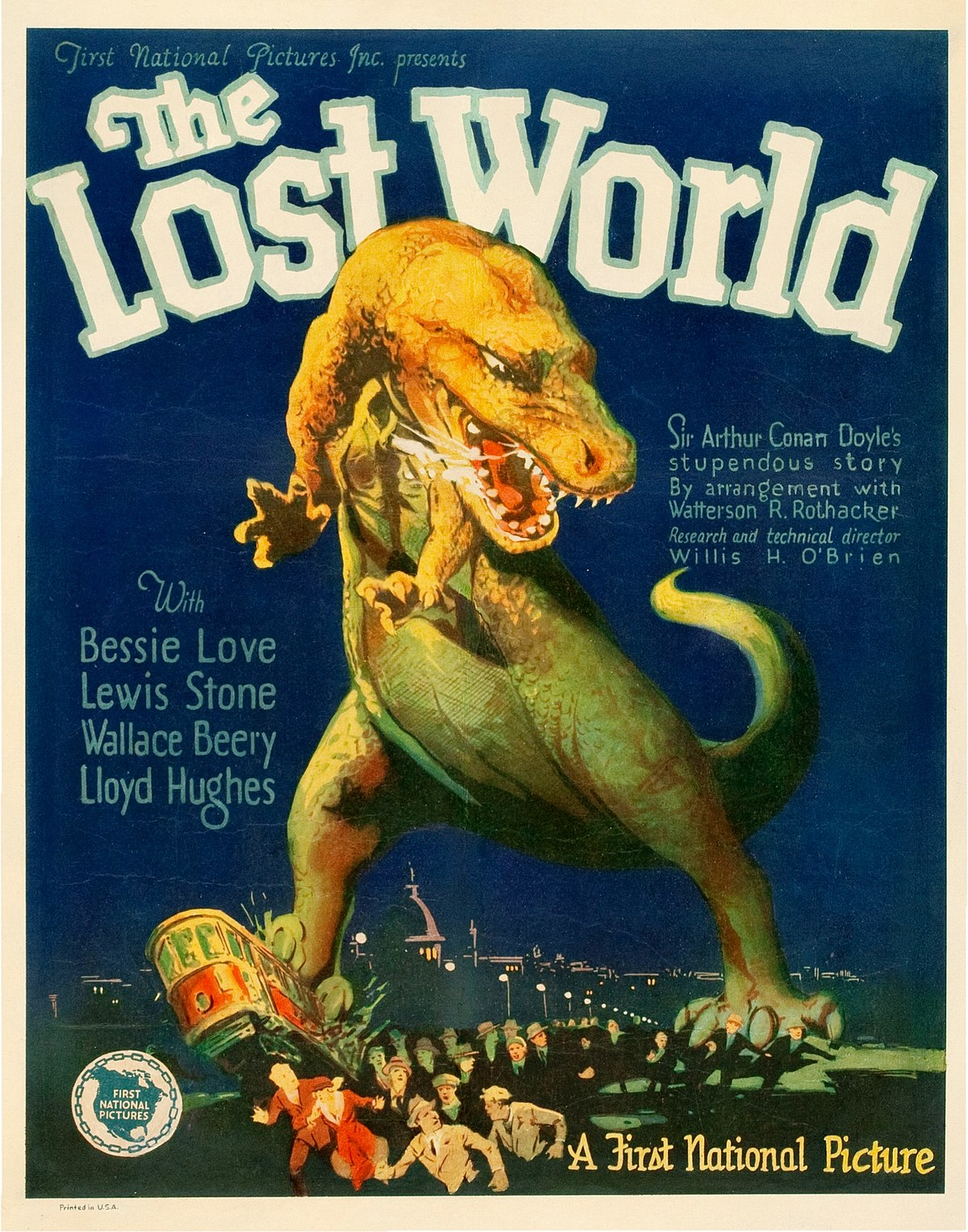 "Filmplakat zu ""The Lost World"" (1925)"