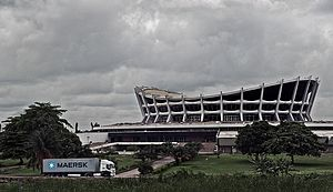 The National Arts Theatre in Lagos, Nigeria