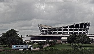 National Arts Theatre - Image: The National Arts Theatre in Lagos (7099736099)