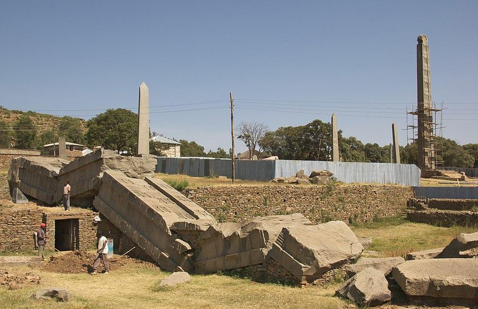 The North Stelae Park, Axum, Ethiopia (2812686646)