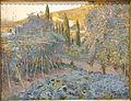 The Orchard and the Shrine, by Joaquin Mir, c. 1896, oil on canvas - Museo Nacional Centro de Arte Reina Sofía - Madrid, Spain - DSC08507.JPG