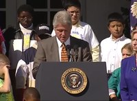 File:The President's Remarks on Children's Health Insurance Program (2000).webm