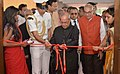 The President, Shri Pranab Mukherjee inaugurating the newly renovated Sevashram Hospital, at Bharuch, in Gujarat on October 23, 2016. The Governor of Gujarat and Madhya Pradesh, Shri O.P. Kohli is also seen.jpg