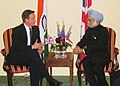 The Prime Minister, Dr Manmohan Singh meeting the Prime Minister of United Kingdom, Mr. David Cameron, on the sidelines of the G-20 Summit, at Toronto, in Canada on June 26, 2010.jpg