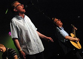 The Proclaimers on stage in 2005